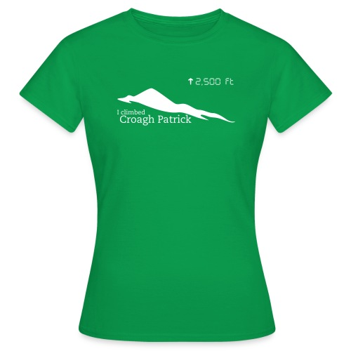 Croagh Patrick (Altitude) - Women's T-Shirt