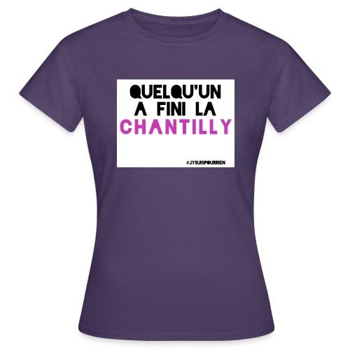 Chantilly - T-shirt Femme