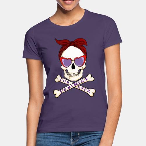 Feminist skull - Camiseta mujer