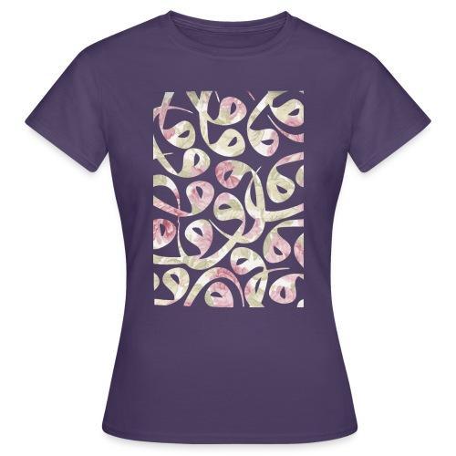 Floral Vav-Kissen - Women's T-Shirt