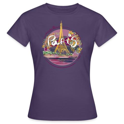 Paris by strob - T-shirt Femme