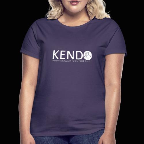Finnish Kendo Team Text - Naisten t-paita