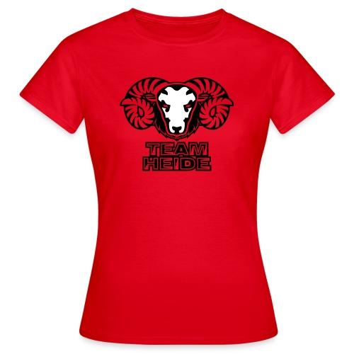 team heide logo 2c - Frauen T-Shirt