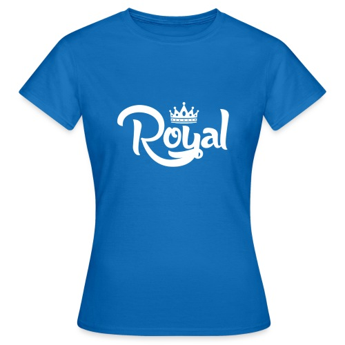 Royal Logo White Edition - Women's T-Shirt