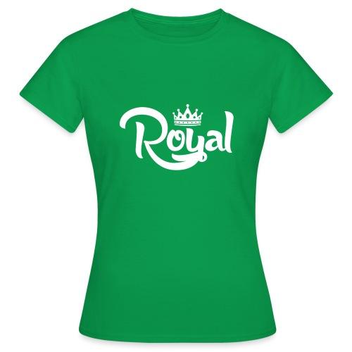 Royal Logo White Edition - Women's T-Shirt
