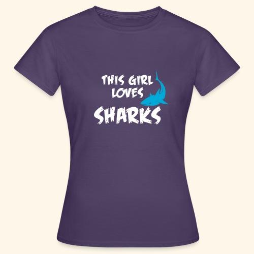 Hai Frauen T-Shirt Englisch - Frauen T-Shirt