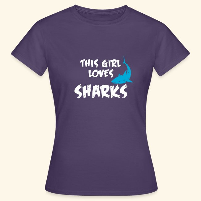 Hai Frauen T-Shirt Englisch
