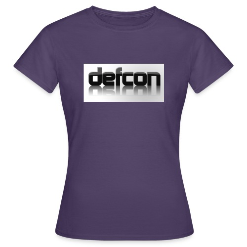defcon 3d with reflection - Women's T-Shirt