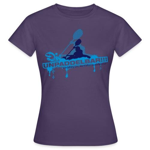 Die Unpaddelbar - Frauen T-Shirt