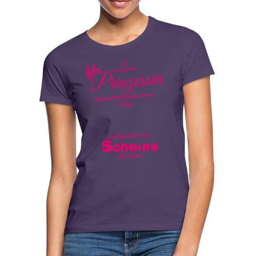 Ich bin keine Primzessin ... die gerettet.... - Frauen T-Shirt