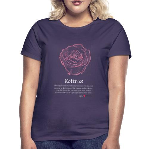 Köttros - T-shirt dam