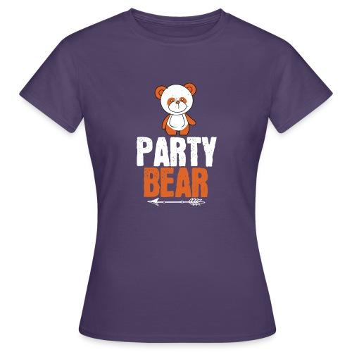 party bear - Vrouwen T-shirt