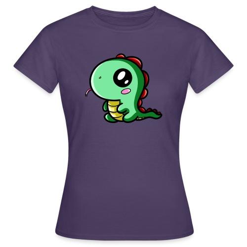 Dinosaure Kawaii - T-shirt Femme