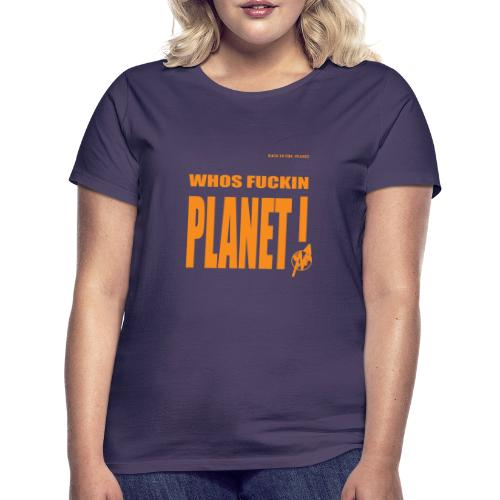 Orange Original PLanet Shirt - Women's T-Shirt