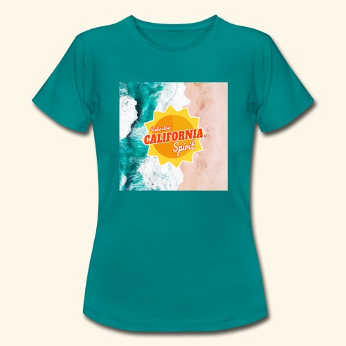 California Spirit Surfin - T-shirt Femme