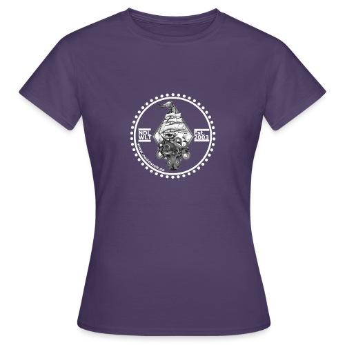 Nadelwelt Logo 2020 Hell BW - Frauen T-Shirt