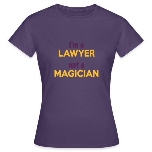 Lawyer Magician - T-shirt Femme