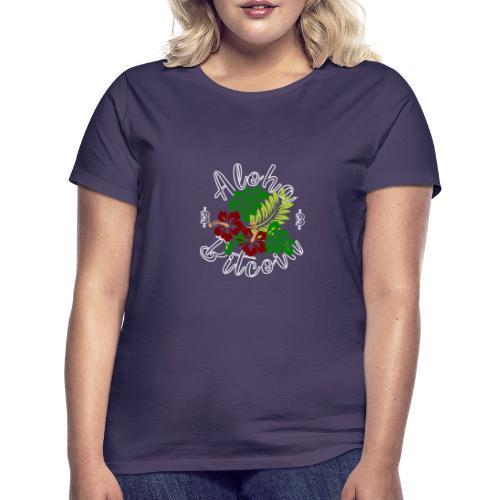 Aloha Bitcoin - Camiseta mujer