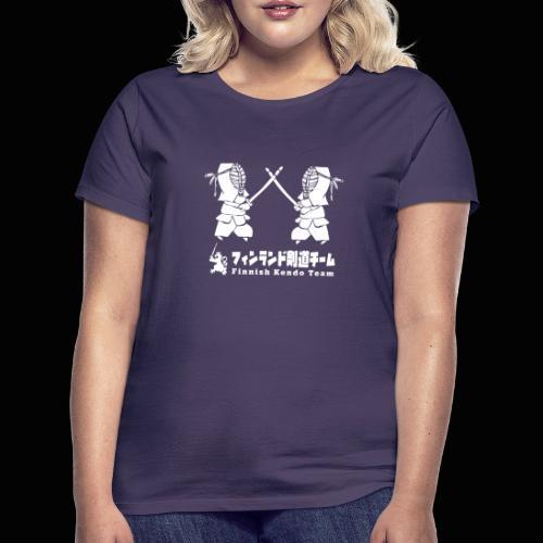 fka team logo white - Naisten t-paita