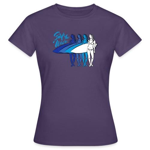 SURF THE WAVE - Maglietta da donna