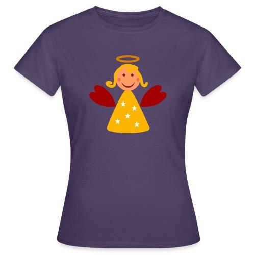 Schöner Engel mit Heiligenschein Süßes Engelchen - Frauen T-Shirt