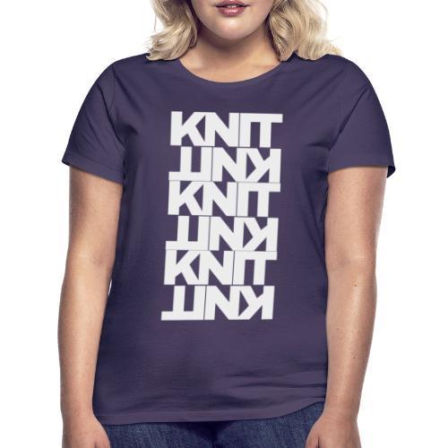 Garter Stitch, light - Women's T-Shirt