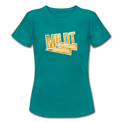 MILDT Gouden Mannen Shirt - Vrouwen T-shirt