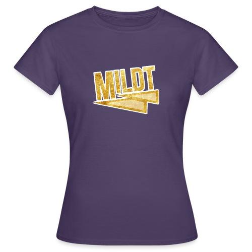 MILDT Gouden Kids Shirt - Vrouwen T-shirt