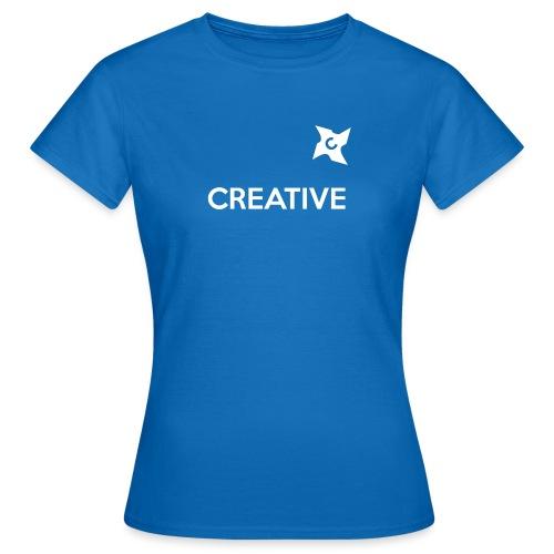 Creative long urban shirt - Dame-T-shirt