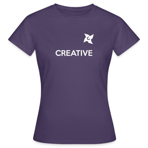 Creative long urban shirt - Dame-T-shirt