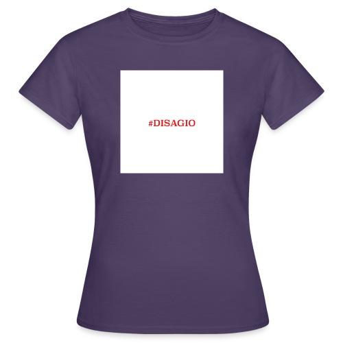 COLLEZIONE UNISEX #DISAGIO - Maglietta da donna