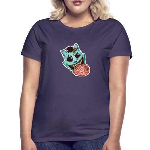 zombie White background - Vrouwen T-shirt