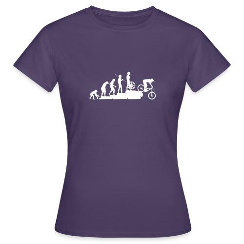 mountain bike evolution negativo - Maglietta da donna