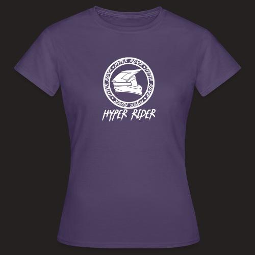 white back - Frauen T-Shirt