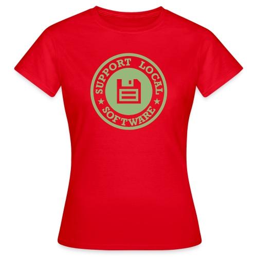 Support Local Software - Women's T-Shirt
