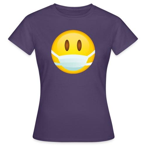 Smile mascarilla - Camiseta mujer