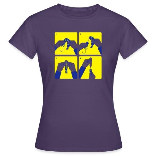 peel shrimp - Women's T-Shirt