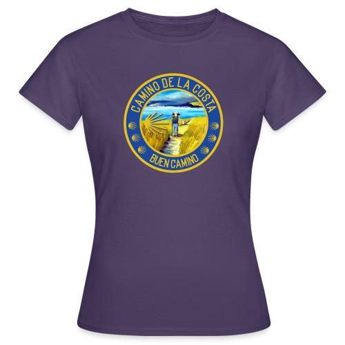 Camino de la Costa - Buen Camino - Frauen T-Shirt