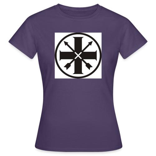kreuz_schwarz - Frauen T-Shirt