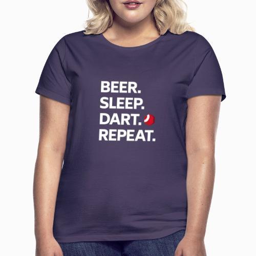 Dart ist Leben. Dart ist Liebe. - Frauen T-Shirt