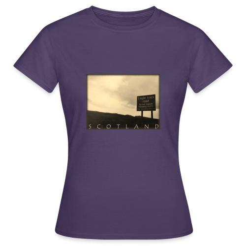 Scotland #1 (Vintage) - Frauen T-Shirt