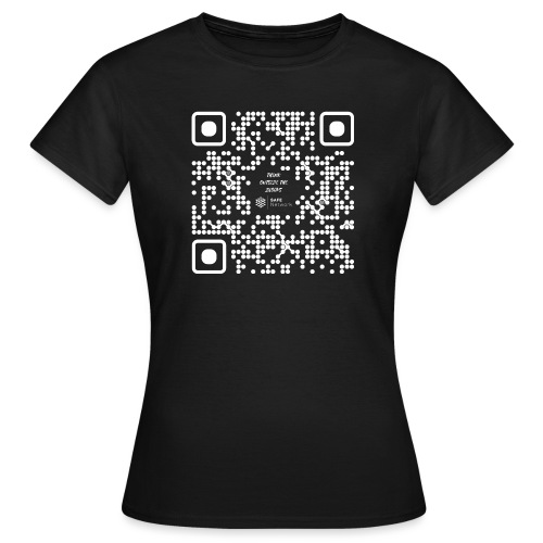 QR The New Internet Should not Be Blockchain Based W - Women's T-Shirt
