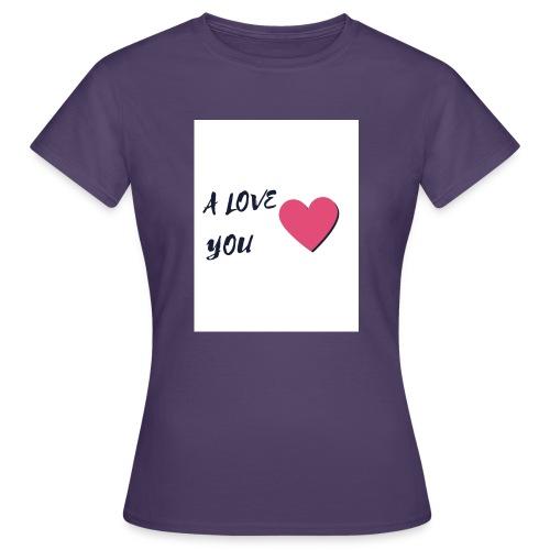 A LOVE YOU 2 - T-shirt Femme