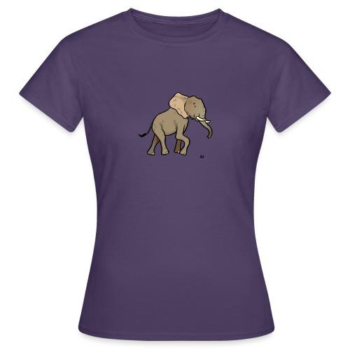 Éléphant d'Afrique - T-shirt Femme