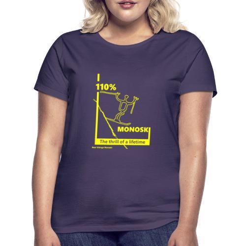 RVM yellow - T-shirt dam