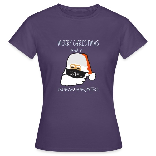 Merry christmams and a safe newyear - Vrouwen T-shirt