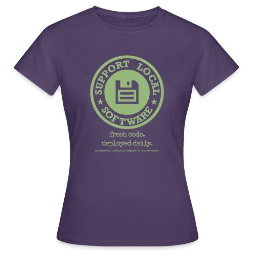 Fresh Code. Deployed Daily. - Women's T-Shirt