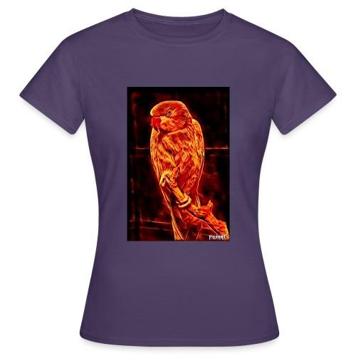 Bird in flames - Naisten t-paita