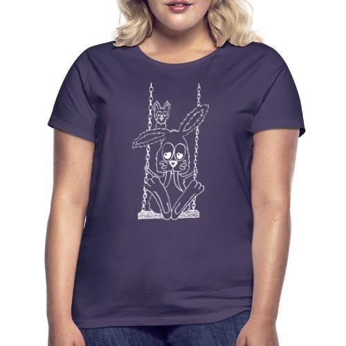 Hare swinging - Naisten t-paita