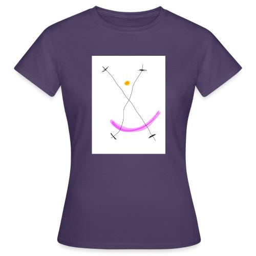 64FB8425 2DD5 4821 BDA2 8F0B9E31CF77 - Dame-T-shirt